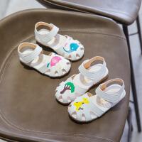 儿童凉鞋夏季男童女童可爱卡通包头凉鞋宝宝公主沙滩鞋