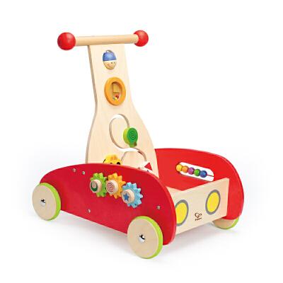 Hape新奇学步车1-2岁儿童玩具多功能推车童车轮滑学步车E0370 【Hape】11.08-11.12狂欢盛典