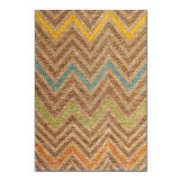 奇居良品 印度进口客厅茶几卧室黄麻地毯 艾达系列多款