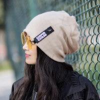 女士帽子时尚潮百搭韩版潮流个性头巾女女帽冷帽包头帽