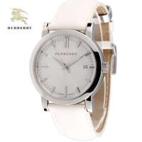 巴宝莉(Burberry)手表 米白英伦圆盘格纹情侣对表