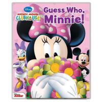 【预订】Disney Mickey Mouse Clubhouse: Guess Who, Minnie!