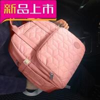 妈咪双肩包多功能大容量手提包时尚母婴妈妈女背包旅行外出待产包
