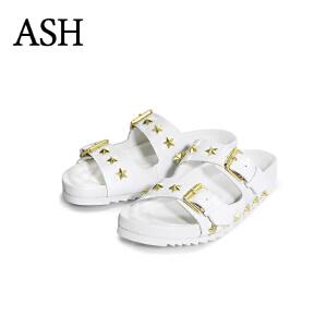 Ash/艾熙 United Sandal S15107942-003 女款真皮凉鞋 韩国直邮 进口商品