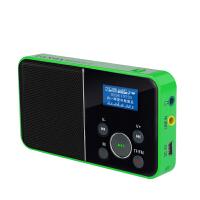 熊猫/PANDA DS-116 数码音响播放器 插卡音箱 一键录音立体声收音机 绿色