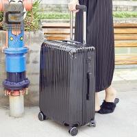 万向轮旅行箱登机箱女皮箱20/28寸行李箱男箱子24/26寸学生拉杆箱