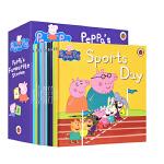 顺丰发货 英文原版 Peppa Pig Favourite Stories 粉红猪小妹小猪佩奇第一辑10册盒装 2-3