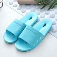 浴室拖鞋女夏季家居家用室内防滑情侣漏水洗澡日式凉拖鞋