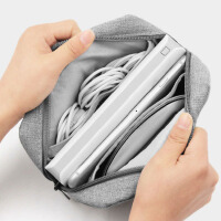 物有物语 数据线收纳包 笔记本电脑电源收纳包多功能便携数码配件收纳包