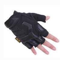 战术手套 户外半指手套山地自行车骑行骑士赛车保暖手套摩托车手套