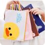 韩国文具卡通可爱手提牛津布文件袋A4学生公文拉链帆布资料档案袋