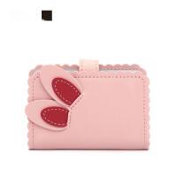 卡包钱包一体包超薄女士简约银行卡套*小巧可爱证件零钱