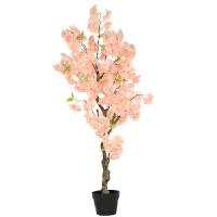 客厅盆景装饰许愿树大型落地绿植盆栽假花仿真樱花树仿真植物室内