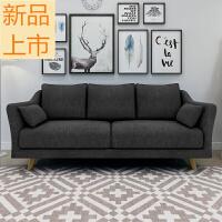 北欧美式现代大小户型布艺沙发日式单人双人三人客厅卧室整装家具定制