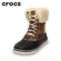 【秒杀价】Crocs卡骆驰休闲男鞋 男士达克皇家靴高帮中筒雪地靴|12774 男士达克皇家靴