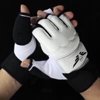PU半指拳击手套散打拳套搏击格斗泰拳训练沙袋少年拳击套男女