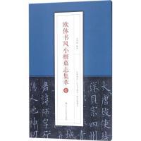 欧体书风小楷墓志集萃(壹) 浙江人民美术出版社