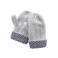 戴维贝拉冬季新款宝宝手套 婴儿针织保暖手套DB5373-2