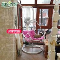 鸟巢吊篮藤椅室内客厅吊椅阳台户外摇篮椅单人吊床庭院秋千椅