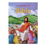 【预订】Saint Joseph Illustrated Bible