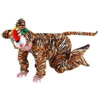 宝宝表演儿童演出服女跳舞蹈衣冬小老虎动物造型服装套装男春秋季