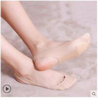 船袜女纯棉浅口隐形薄款夏天硅胶防滑袜子女短袜韩国可爱肉色丝袜