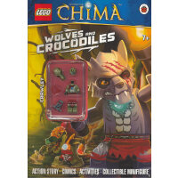 LEGO Legends of Chima: Wolves and Crocodiles Activity Book