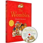 好心的尖鼻怪英文原版 The Wombles 全彩绘全集 章节桥梁书 附CD