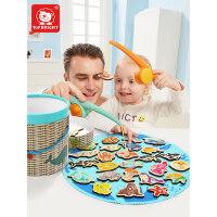 特宝儿磁性钓鱼玩具女孩一岁半宝宝玩具1-2-3岁男孩儿童早教益智