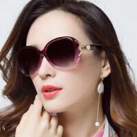 女潮近视眼镜长脸复古眼镜 圆脸款女士墨镜 新款时尚偏光太阳镜驾驶墨镜