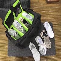 超大容量手提单肩旅行包 足球篮球健身羽毛球旅行训练包球鞋收纳
