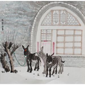 俞正军《冬雪》