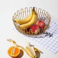 776北欧ins个性创意家用客厅茶几铁艺水果零食盘简约多功能收纳摆件
