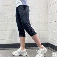 【夏季福利购】安踏运动裤女裤夏季针织裤子休闲七分裤女162027318