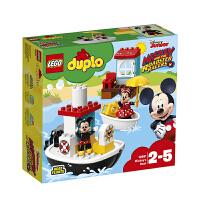 【当当自营】LEGO乐高积木得宝DUPLO系列10881 2-5岁米奇的小船