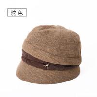韩百搭时尚保暖女士帽子鸭舌帽新款帽子女冬季贝雷帽