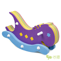 【当当自营】谷播 泡沫拼图木马玩具拼接地垫家用儿童环保爬行垫