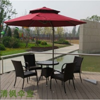 户外桌椅组合休闲藤椅家具酒吧咖啡厅花园休闲桌椅阳台露天桌椅