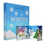 大卫・卡特极致创意立体书 英文原版 Winter: A Pop-Up Book 冬天 圣诞节立体书 趣味儿童读物 Da