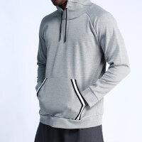 健身服宽松速干套装运动跑步篮球训练衣服连帽黑色卫衣