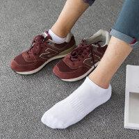 袜子男士毛圈加厚保暖防臭篮球袜低帮短袜纯棉运动短袜男