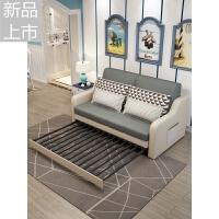 北欧小户型布艺沙发床可折叠客厅多功能双人拆洗两用1.2米1.8沙发定制 1.5米-1.8米