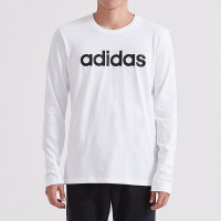 adidas阿迪达斯NEOLOGO男运动休闲长袖T恤DM4284