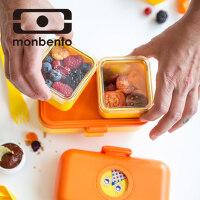 法国monbento 日式儿童便当盒分隔饭盒可爱学生可微波炉加热便当