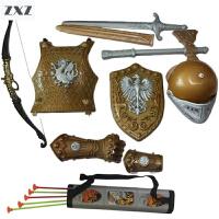 儿童弓箭玩具 男孩宝剑盾牌组合 吸盘式仿真射箭玩具