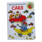 Richard Scarry's Cars 斯凯瑞英文原版童书绘本 纸板书