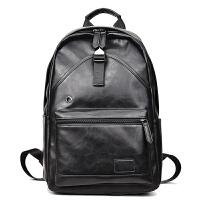 防盗潮流男士双肩包皮包包青年学生书包时尚个性背包电脑包旅行包
