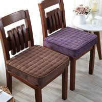 冬季学生增高椅垫子汽车座垫餐椅垫海绵加厚坐垫椅子垫