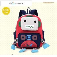 儿童书包幼儿园男女童1-6岁韩版机器人小男孩双肩包宝零食小背包