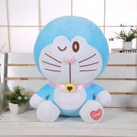 正版甜心纯真版叮当猫公仔哆啦A梦机器猫毛绒玩具抱枕生日礼物